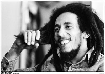 Bob Marley- London 1978 Plakat