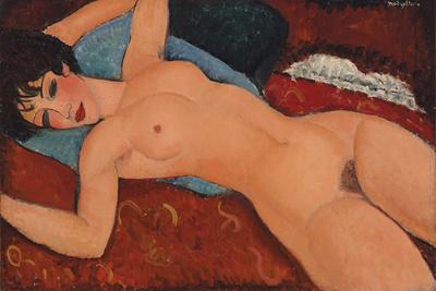 Nu Couche Giclee Print by Amedeo Modigliani