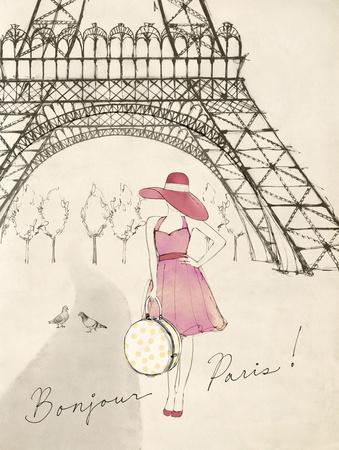 Sketchbook Paris I Prints by Lottie Fontaine