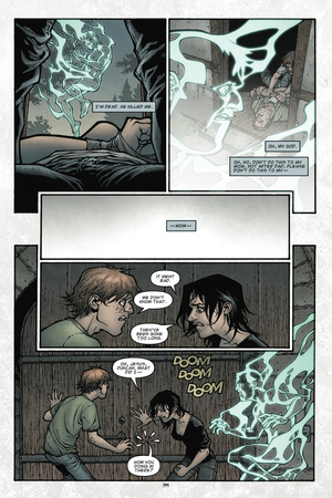 Locke and Key: Volume 1 Welcome to Lovecraft – Comic Page with Panels Posters by Gabriel Rodriguez