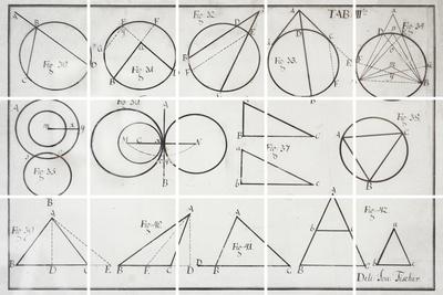 Geometry Giclee Print by Chris Dunker