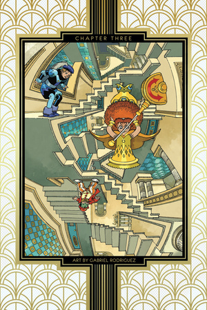 Little Nemo: Return to Slumberland – Chapter Page Print by Gabriel Rodriguez