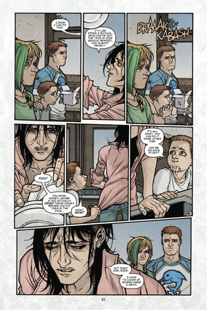 Locke and Key: Volume 3 - Comic Page with Panels Prints by Gabriel Rodriguez