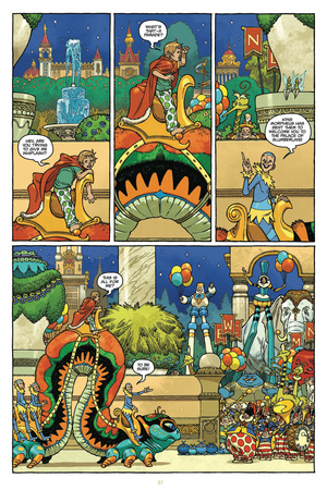 Little Nemo: Return to Slumberland - Comic Page with Panels Prints by Gabriel Rodriguez
