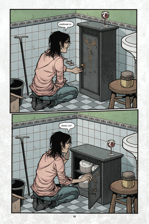 Locke and Key: Volume 3 - Comic Page with Panels Poster by Gabriel Rodriguez