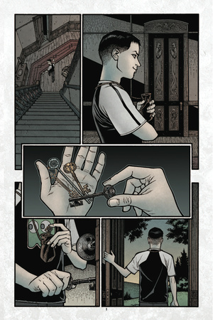 Locke and Key: Volume 3 - Comic Page with Panels Posters by Gabriel Rodriguez