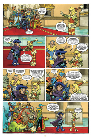 Little Nemo: Return to Slumberland - Comic Page with Panels Photo by Gabriel Rodriguez