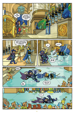 Little Nemo: Return to Slumberland - Comic Page with Panels Posters by Gabriel Rodriguez