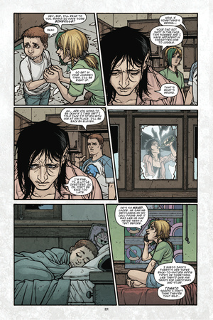 Locke and Key: Volume 3 - Comic Page with Panels Photo by Gabriel Rodriguez