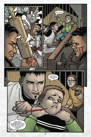 Locke and Key: Volume 4: Keys to the Kingdom – Comic Page with Panels Poster by Gabriel Rodriguez