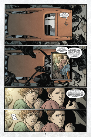 Locke and Key: Volume 6 - Comic Page with Panels Prints by Gabriel Rodriguez
