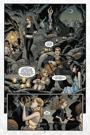 Locke and Key: Volume 6 – Comic Page with Panels Print by Gabriel Rodriguez