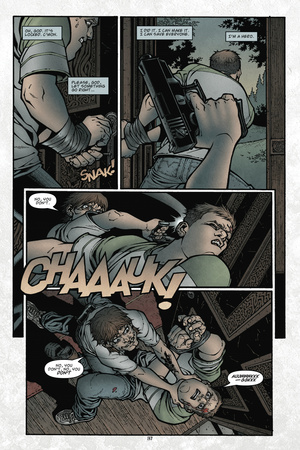 Locke and Key: Volume 1 Welcome to Lovecraft – Comic Page with Panels Prints by Gabriel Rodriguez