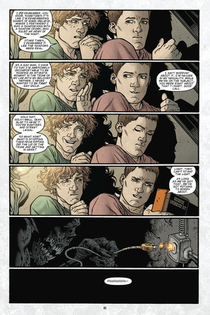Locke and Key: Volume 6 - Comic Page with Panels Posters by Gabriel Rodriguez