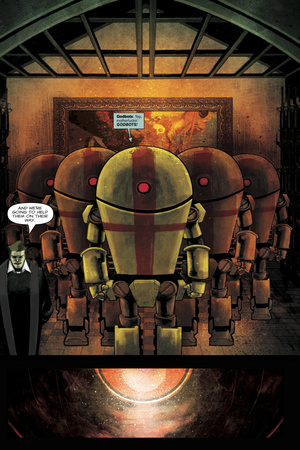 Zombies vs. Robots: Undercity - Comic Page with Panels Prints by Mark Torres!