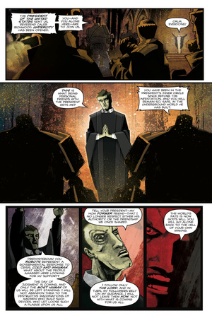 Zombies vs. Robots: Undercity - Comic Page with Panels Posters by Mark Torres