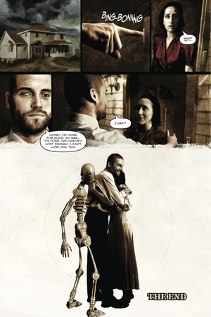Zombies vs. Robots – Comic Page with Panels Prints by Menton Matthews III