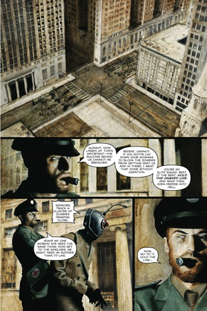 Zombies vs. Robots - Comic Page with Panels Prints by Menton Matthews III