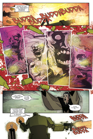 Zombies vs. Robots: Undercity - Comic Page with Panels Poster by Mark Torres