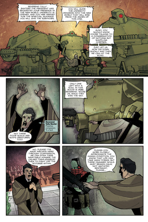 Zombies vs. Robots: Undercity - Comic Page with Panels Prints by Mark Torres