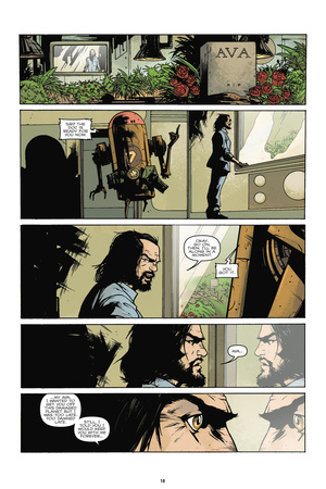 Zombies vs. Robots: No. 7 - Comic Page with Panels Art by Paul Davidson