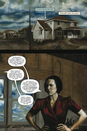 Zombies vs. Robots - Comic Page with Panels Prints by Menton Matthews III