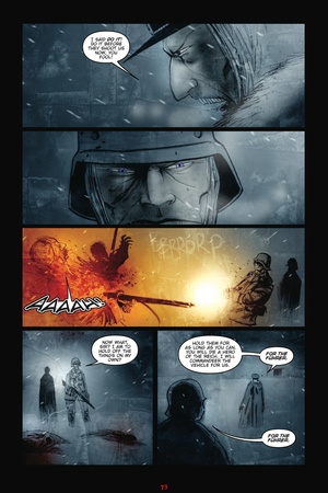 30 Days of Night: Red Snow – Comic Page with Panels Posters by Ben Templesmith