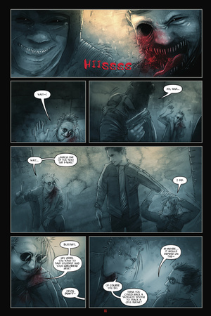 30 Days of Night: Eben & Stella - Comic Page with Panels Prints by Justin Randall