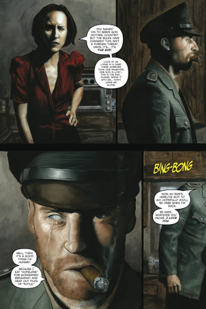 Zombies vs. Robots - Comic Page with Panels Posters by Menton Matthews III