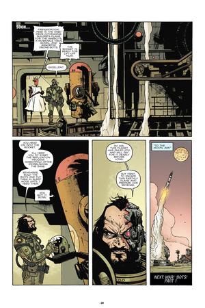 Zombies vs. Robots: No. 7 - Comic Page with Panels Prints by Paul Davidson