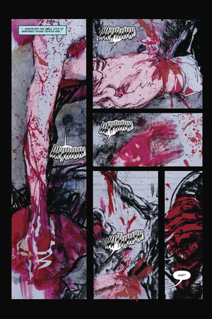 30 Days of Night: Beyond Barrow – Comic Page with Panels Posters by Bill Sienkiewicz