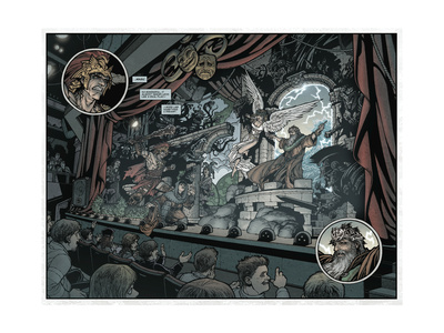 Locke and Key: Volume 2 - Page Spread Poster by Gabriel Rodriguez