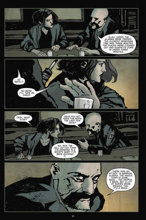 30 Days of Night: Volume 2 – Comic Page with Panels Photo by Christopher Mitten