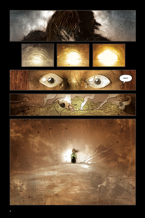 30 Days of Night: Dark Days – Comic Page with Panels Prints by Ben Templesmith