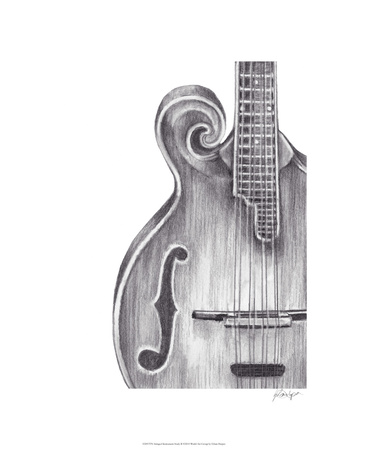 Stringed Instrument Study II Limited Edition by Ethan Harper