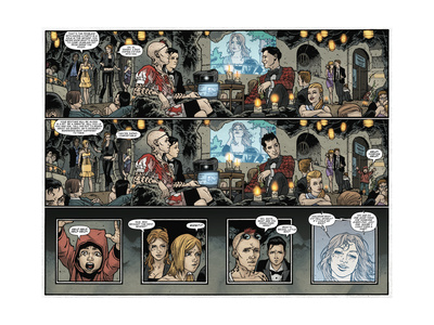 Locke and Key: Omega 4 - Comic Page with Panels Prints by Gabriel Rodriguez