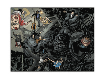 Locke and Key: Omega 4 - Page Spread Posters by Gabriel Rodriguez