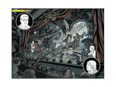 Locke and Key: Volume 5 - Page Spread Posters by Gabriel Rodriguez