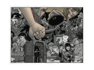 Locke and Key: Volume 1 Welcome to Lovecraft - Page Spread Print by Gabriel Rodriguez