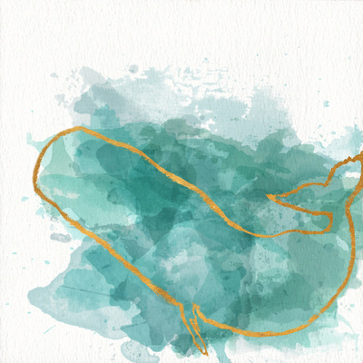 Watercolor Sealife II Prints by Julie DeRice