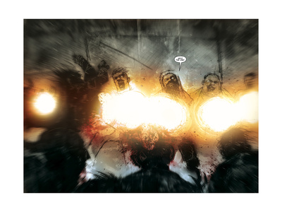 30 Days of Night: Return to Barrow - Page Spread Prints by Ben Templesmith