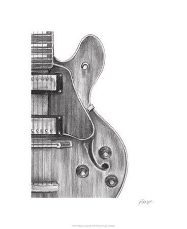 Stringed Instrument Study IV Limited Edition by Ethan Harper
