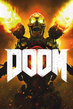 Doom- Key Art plakat