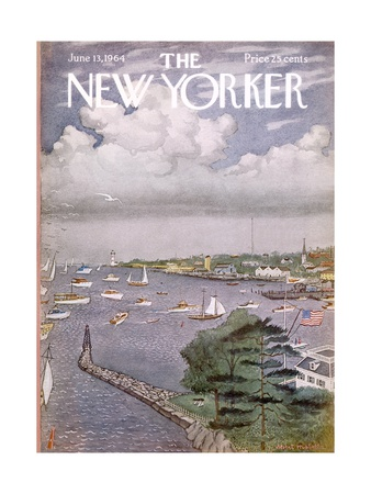 The New Yorker Cover - June 13, 1964 Giclee Print by Albert Hubbell