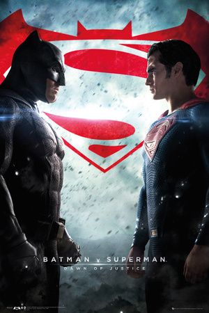 Batman Vs. Superman- One Sheet Plakat