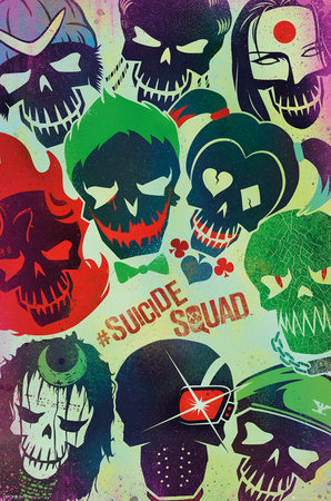 Suicide Squad- Sugar Skulls plakat