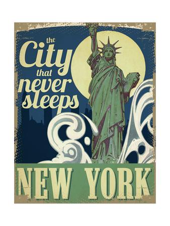 New York Giclee Print