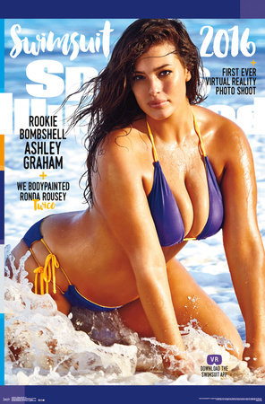 Sports Illustrated- Ashley Graham 2016 Print