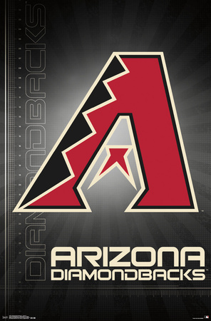 Arizona Diamondbacks- 2016 Logo Posters