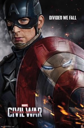 Captain America- Civil War One Sheet Prints